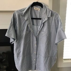 Madewell Courier Button Down M